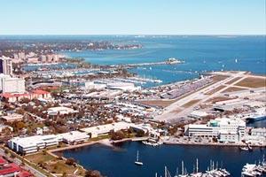 car rentals at st petersburg clearwater airport  St. Petersburg/Clearwater Airport Airport | Rental Car Map