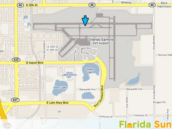 Car Rental At Sanford Airport Orlando Florida