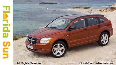 Dodge Caliber rental vehicle